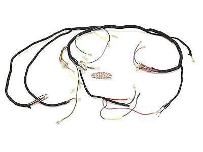 Triumph 1971-73 T120 Bonneville TR6 Tiger UK-Made Main Wiring Harness H028