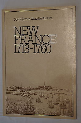 Canadian New France 1713 - 1760 Reference Book