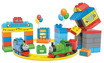 New Mega Bloks Thomas & Friends Happy Birthday Toy 70 Piece Playset 3+