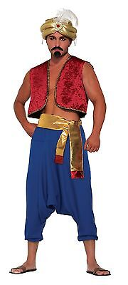 Adult Moroccan Arabian Desert Prince Gold Sash #fancy Dress Sultan Accessory