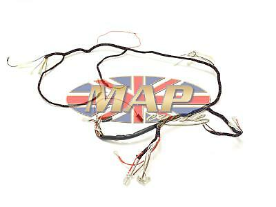 Triumph 1968 T90 T100 T120 TR6 UK-Made Quality Wiring Harness H026