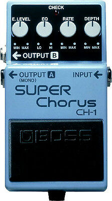Boss CH-1 Stereo Super Chorus Guitar Effects Stomp Box Pedal