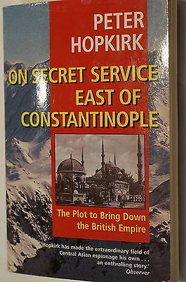 WW1 British Turkish On Secret Service East of Constantinople Reference Book