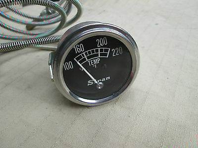1960s New Old Stock Accessory - MECHANICAL WATER TEMPERATURE GAUGE , Fahrenheit