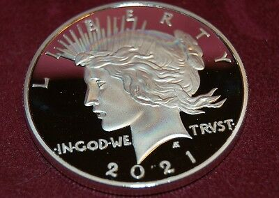 2021 Peace Dollar 100th Anniversary Special Edition Novelty Fantasy Coin