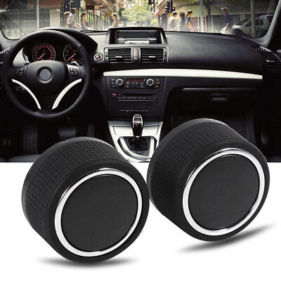 2pcs For 07-13 Chevrolet GMC Cadillac Buick Rear Audio Radio Control Knob Button