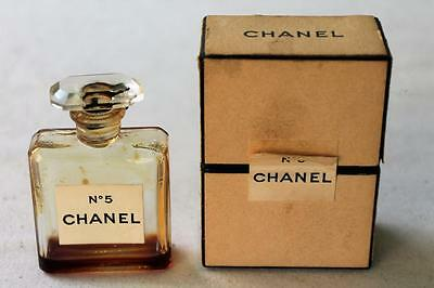 Vintage Chanel No.5 Size 9 empty bottle in original box