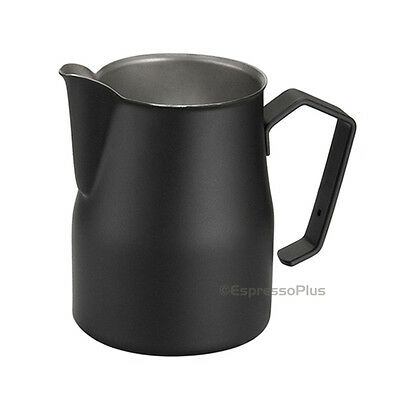 Motta Black Professonal Milk Frothing Pitcher 17 oz / .50 cl - Made in Italy