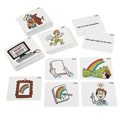 212 pc Sequencing Story Cards Set Autism Speech Therapy Special Needs