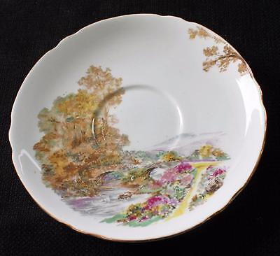 "Vintage SHELLEY Bone China England Dainty Shape HEATHER 5 3/4"" Saucer #13419"