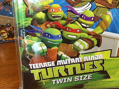 New ZippySack - Teenage Mutant Ninja Turtles Twin Size Fleece Bedding