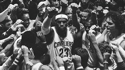 LEBRON JAMES NBA CLEVELAND CAVALIERS Photo Quality Poster - Choose a Size! AA004