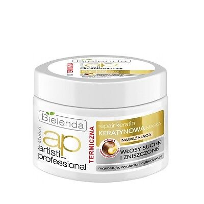 Bielenda ARTISTI REPAIR  Keratin Hair Mask for Dry and Damaged Hair THERMAL