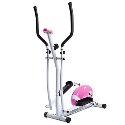 Sunny Health&Fitness P8300 Pink Magnetic Elliptical Trainer