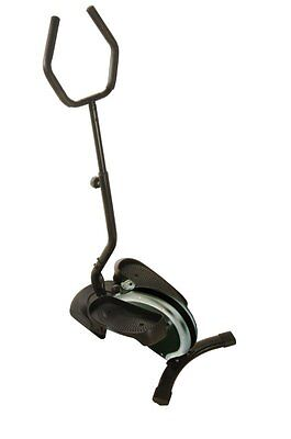 Stamina 55-1616 InMotion Elliptical Trainer with Handle, Black and Chrome