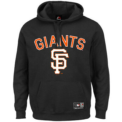 San Francisco Giants Majestic MLB Fanatic Hoodie Jumper - Black