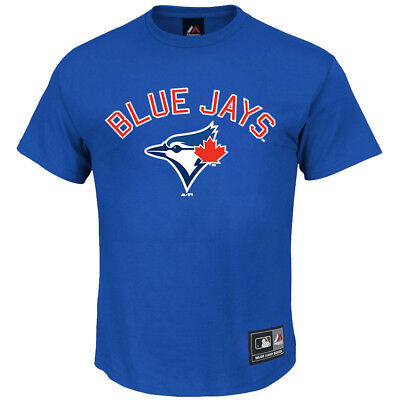 Toronto Blue Jays Majestic MLB Fanatic T-Shirt - Blue