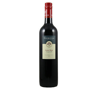 NEW Gemtree Luna Roja Tempranillo 2015 Organic Wine