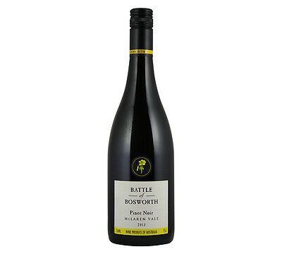 NEW Battle of Bosworth 2015 Pinot Noir Organic Wine