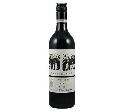 NEW Tamburlaine Grapevine Preservative Free 2015 Shiraz Organic Wine