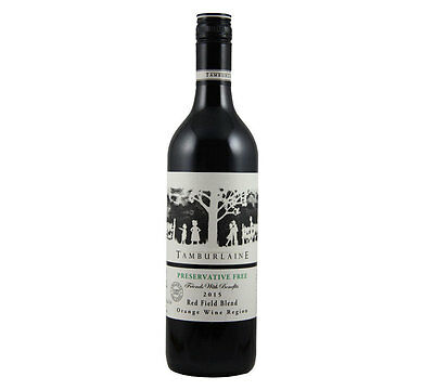 NEW Tamburlaine Grapevine Preservative Free 2015 Red Field Blend