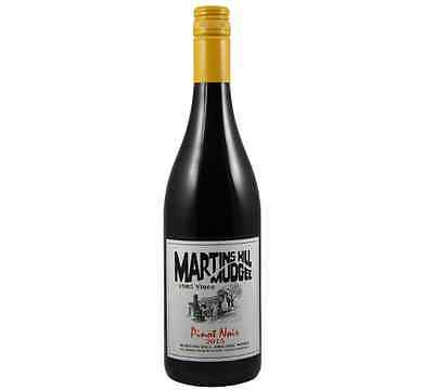 NEW Martins Hill Preservative Free Pinot Noir 2015 Organic Wine