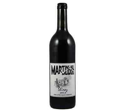 NEW Martins Hill Preservative Free Shiraz 2012 Organic Wine