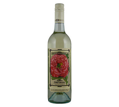 NEW Spring Seed Wine Co Poppy Pinot Grigio 2016 Organic Wine