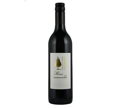 NEW Botobolar Preservative Free Shiraz 2015 Organic Wine