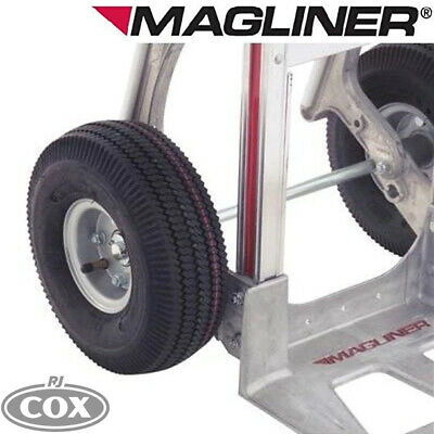"""Magliner Pneumatic Wheel 10x3.5"""" For Hand Truck 121060 5/8 3 Piece Hub"""