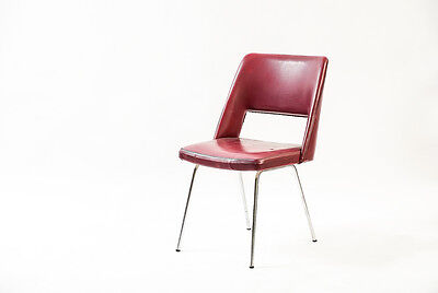 Red Retro 1970's Desk Chair