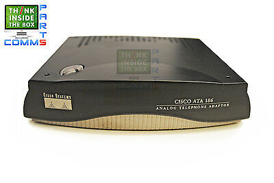 Cisco Ata186-I2-A Ata 186 2-Port Adaptor No Psu *12 Month Warranty*