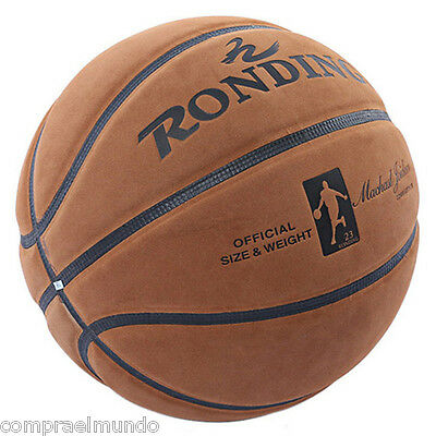 New RONDING U2300 Official Size Weight Wear Resistant Cowhide Basketball