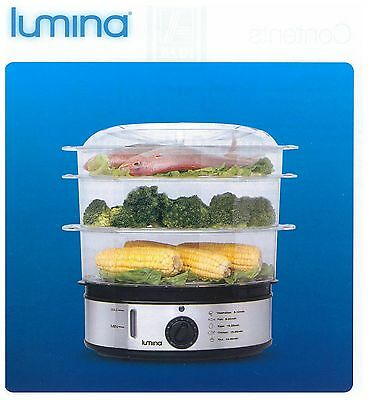 lumina electric food steamer xj-10102s