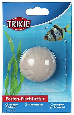 Trixie Vacation 2 Week Holiday Fish Food Aquarium Block 25g (7500)