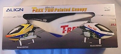 ALIGN T-REX 700N Nitro Painted Canopy B HN7090 NEW