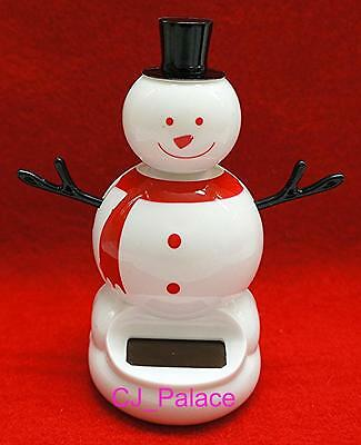 Nohohon Flip Flap Solar Powered  Dancing Snowman Christmas X'mas