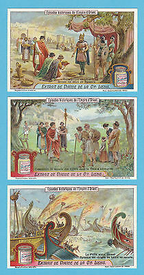 Liebig - Set Of 6 Cards -  S 1138  /  F 1137  -  Byzantine  Empire  -  1922