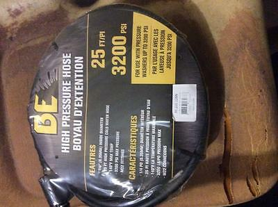 """Pressure Washer Hose 1/4"""" x 25' 3200 MAX PSI M22 REPLACEMENT OR EXTENTION"""