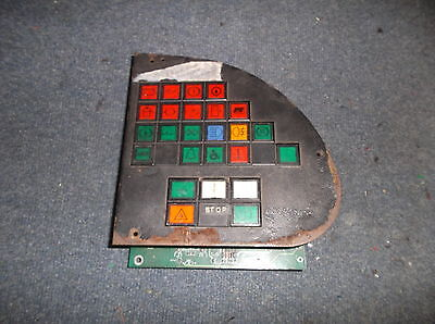 Optare Solo Early type dashboard switch panel