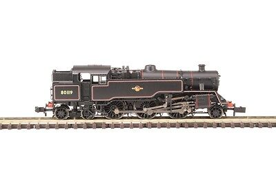 Graham Farish 372-536 Class 4MT 80119 BR Lined Black Late Crest