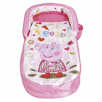Girls Sleeping Airbed and Sleeping Bag In One Ready Bed For Children