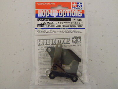 Tamiya 53346 (TL-01/M03) Quick Release Battery Holder (TL01) NIP