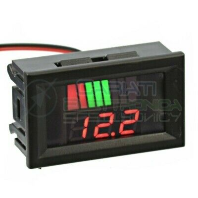 INDICATORE DI CARICA VOLTMETRO Display led per batterie al piombo 48V