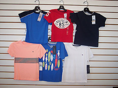 Toddler & Boys Tommy Hilfiger $18.50 - $22.50 Assorted T-Shirts Size 2T - 7