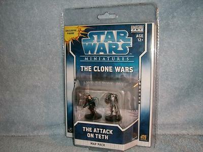 The Attack on Teth Star Wars Clone Miniatures Map Pack Anakin Super Battle Droid