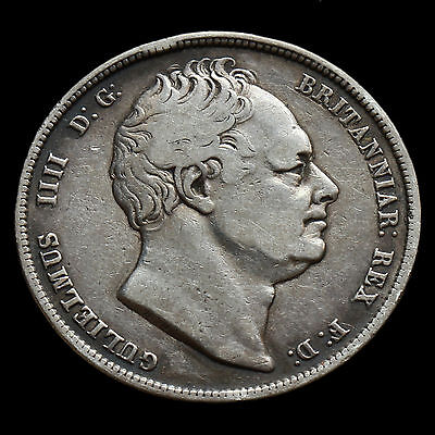 1834 William IV Milled Silver Half Crown – AVF