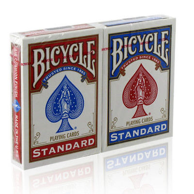 Lot de 2 jeux de carte poker BICYCLE neufs magie R&B Cards Karten Cartas Carte