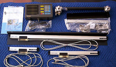 Jenix 3 Axis Digital Readout System For Milling Machines - Dro