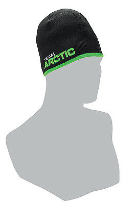 Arctic Cat Youth Team Arctic Race Beanie / Hat - Black - Lime Green 5263-132